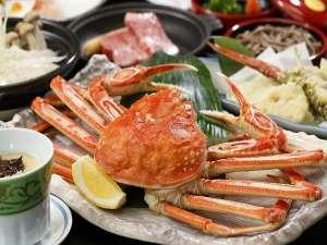 【冬の味覚★蟹】身がぎっしり詰まった茹で蟹を贅沢にどうぞ!食べ方選べる蟹料理プランも♪