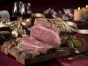 【リゾートブッフェ・クリスマス】道産牛のローストビーフ
