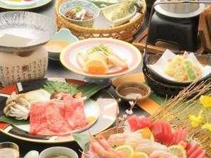 【鳥取三昧会席】〇旬魚のお造り・カニ・アワビ・鳥取和牛まで♪♪(※画像はイメージ)