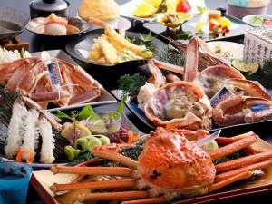 蟹会席料理(寒昴)例