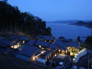 日本海を望む絶景の立地