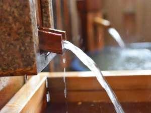お部屋のお風呂ももちろん源泉掛け流し温泉