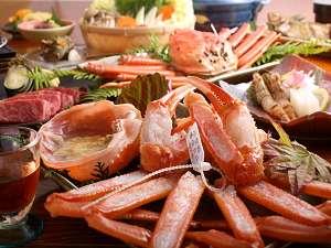 【香住がにフル+但馬牛ステーキ】香住蟹の鍋・茹・刺&但馬牛ステーキが味わえちゃいます☆