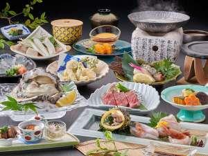 夏は海のミルク「岩牡蠣」などをメインに豪華食材が勢ぞろい!