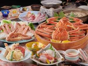 冬の味覚の王様「松葉ガニ」と「ぶりしゃぶ」を贅沢に味わう!