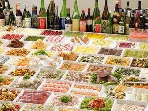 ◆夕食バイキング◆和洋中と品数豊富なバイキング(お料理はイメージ)