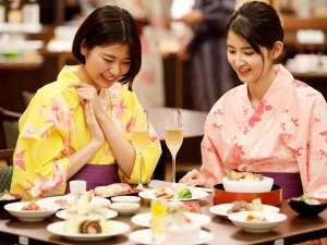◆夕食バイキング◆和食・洋食・中華と品数豊富でお楽しみいっぱい(イメージ)