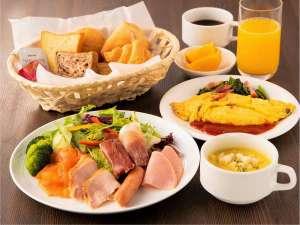 小滝野自慢の洋朝食