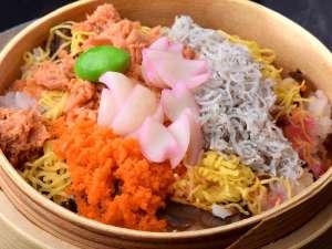 【市場めし】ちらし蒸し寿司