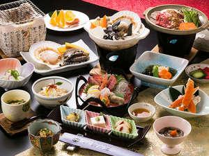 *≪お料理贅沢プラン≫青森の贅沢海鮮食材を使用!旬の食材を様々な調理方でご堪能頂けます。