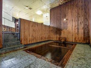 *【御湯殿~ひば浴槽~】津軽信牧(のぶひら)候が造らせたという由緒ある風呂