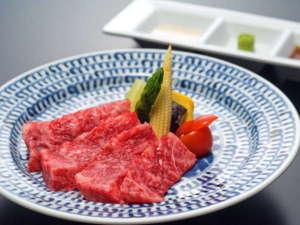 やまざと膳 (赤城牛ステーキ)