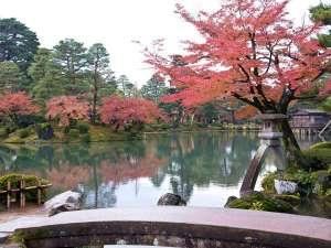 【兼六園(紅葉)】写真提供:金沢市
