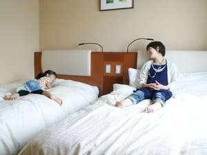 【ツインルーム】週末人気NO1!ご夫婦、ご家族で。小さなお子様との添い寝も◎