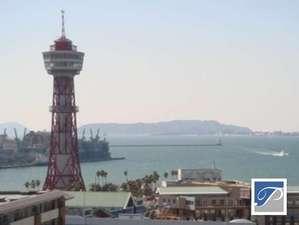 ■景観■ 高層階(海側)からは、博多湾を一望。豪華客船をご覧いただける事もあります。