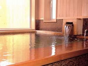なめらかなお湯は、体を芯から温めてくれる