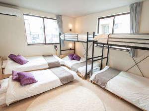 ルームBベッド・二段ベッド