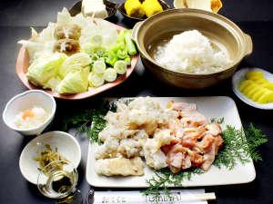 しぐれホルモン鍋♪自慢の旨出汁と野菜の旨味で箸が進む^^