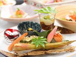 【夕食一例】旬の食材と職人の技を粋を凝らした料理一例