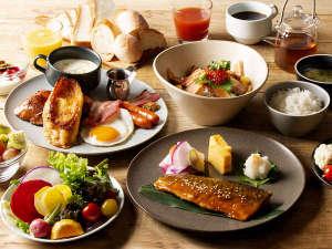 【朝食】3階レストラン・朝食会場…ホテル3階 CARROLL・朝食時間…6:30~10:30