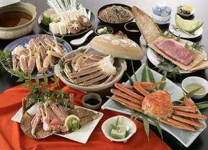 特選蟹すき(一例)