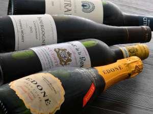 ホテルおすすめワイン豊富に揃えています