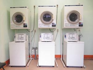 コインランドリー(洗濯・乾燥)洗剤はフロントで販売しております。