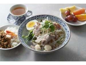 ご朝食★4種から選べるセットメニュー(タイ風ヌードル)