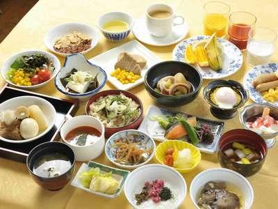 ホテル自慢の朝食♪【和食バイキング】メニュー紹介
