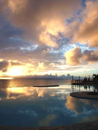 冬の絶景!夕陽を見ながらのんびり過ごす☆冬の石垣島