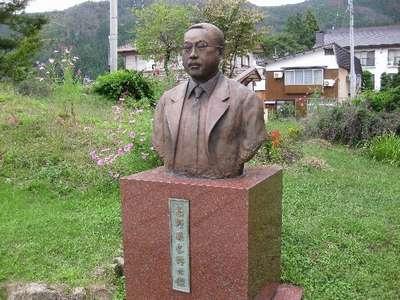 唱歌「故郷」の高野辰之先生の銅像です。/野沢温泉 リゾートインあべの ...