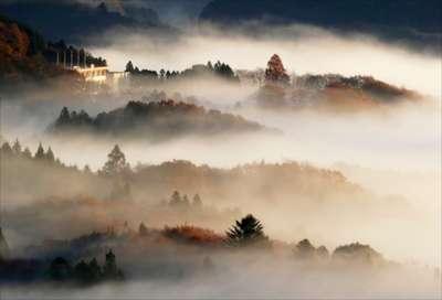 鎌倉 山 雲海