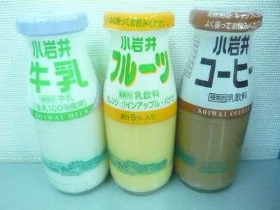 フルーツ牛乳で朝から元気に!/...