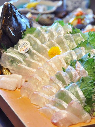 かぼすヒラメ&かぼす酢醤油/千...