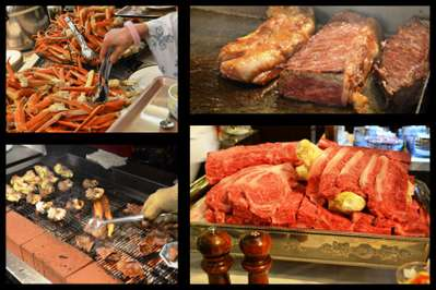 9月1日より特別謝恩企画「和牛ステーキ&ずわい蟹食べ放題バイキングプラン」を開催しております。 9月6日までの期間限定のプランは、その名の通りメインに国産