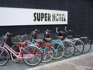 自転車の 浅草 自転車 : スーパーホテル浅草はレンタル ...