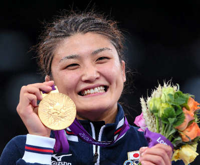 またまた出ました金メダル★伊調 馨選手おめでとう♪