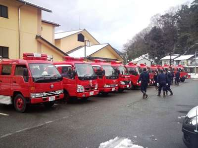 城崎消防団出初め! 新入団員として初めての消防団の出初式に参加しました。城崎温泉では、消防...