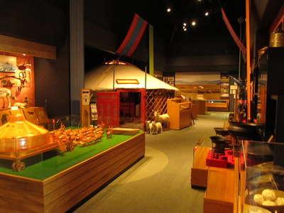 日本・モンゴル民族博物館へ行っ...