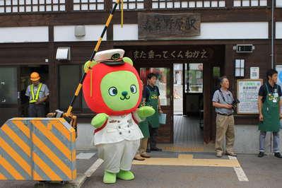 こんにちは!今日は栄村に「走れ!農家レストラン」列車、イベントが開催さ... 超強敵!アルクマ来