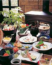 季節の和食膳、標準プラン(写真秋~冬)