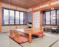 眺めの良い客室は清潔でゆっくりと寛げる