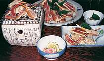 【カニ鍋・松】 たーんとカニ鍋+7品のカニコース★
