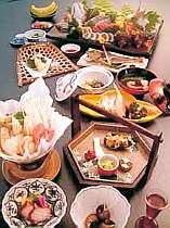 当館での夕食 料理一例 夏