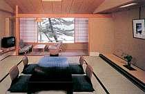 日本海の眺望が美しい客室