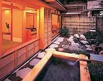 露天風呂付特別室『もみじ』和室2間+檜の掛け流し温泉露天風呂+トイレ+洗面所付き