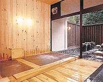 内湯・サウナ・ジャクジー付きの貸切露天風呂(通常1時間1000円)