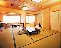 【最上階特別室】東館7階、最上階13.5畳と4.5畳の二間続きの和室。(画像一例)