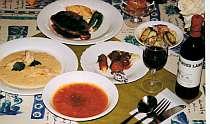 ボリューム満点肉と魚のWメインフルコース