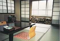 静かで落ち着いたたたずまいの和室